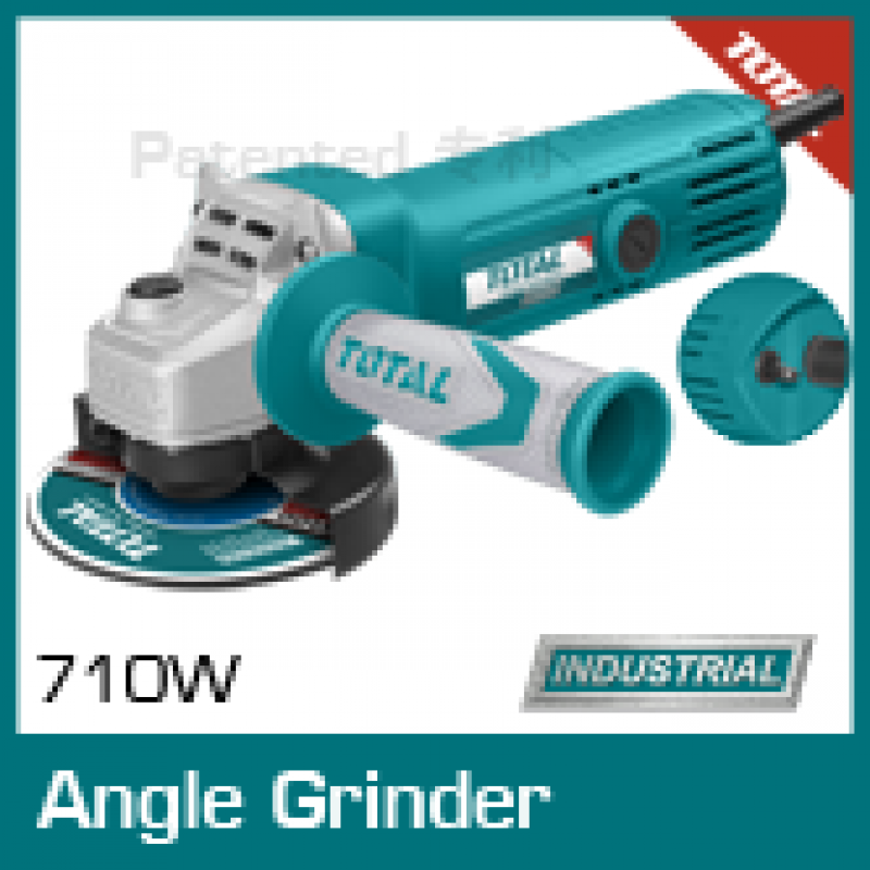 TOTAL 710W angle grinder